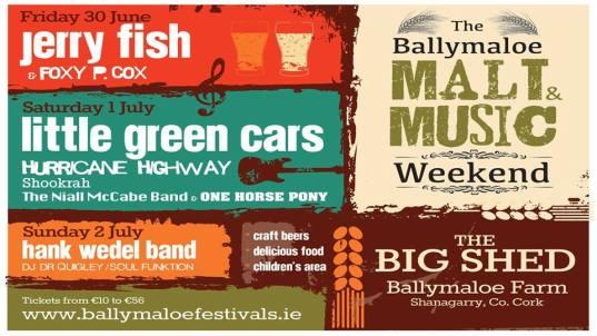 ballymaloe malt and music festival